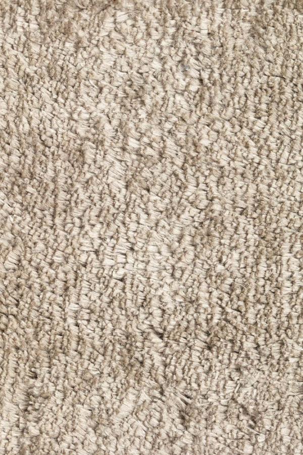 Natural Pile Linen Rug closeup