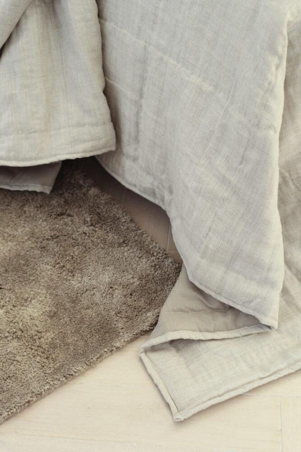 Natural Pile Linen Rug interior